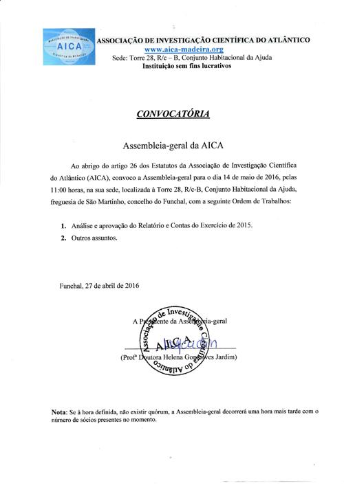 Assembleia-Geral da Aica